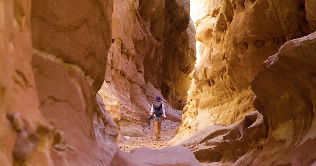 Hiking San Rafael Swell and Goblin Valley State Park