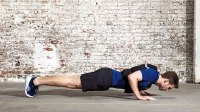 Pushup with weighted vest