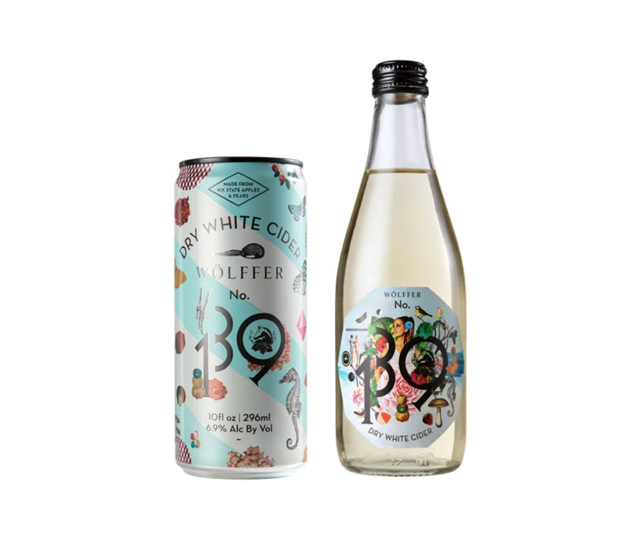 Wölffer's No. 139 Dry White Cider