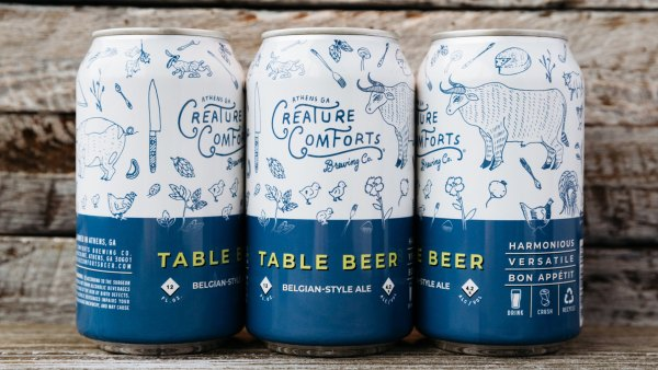 Table Beer from Creature Comforts Brewing Co.; Thanksgiving beers