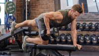 Grooming by Christie Caiola for Ennis Inc.; back exercise