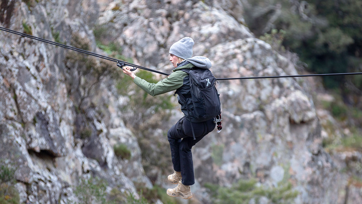 Cara Delevingne Muscles Herself Across a Canyon and Eats a Rat With Bear Grylls on 'Running Wild'