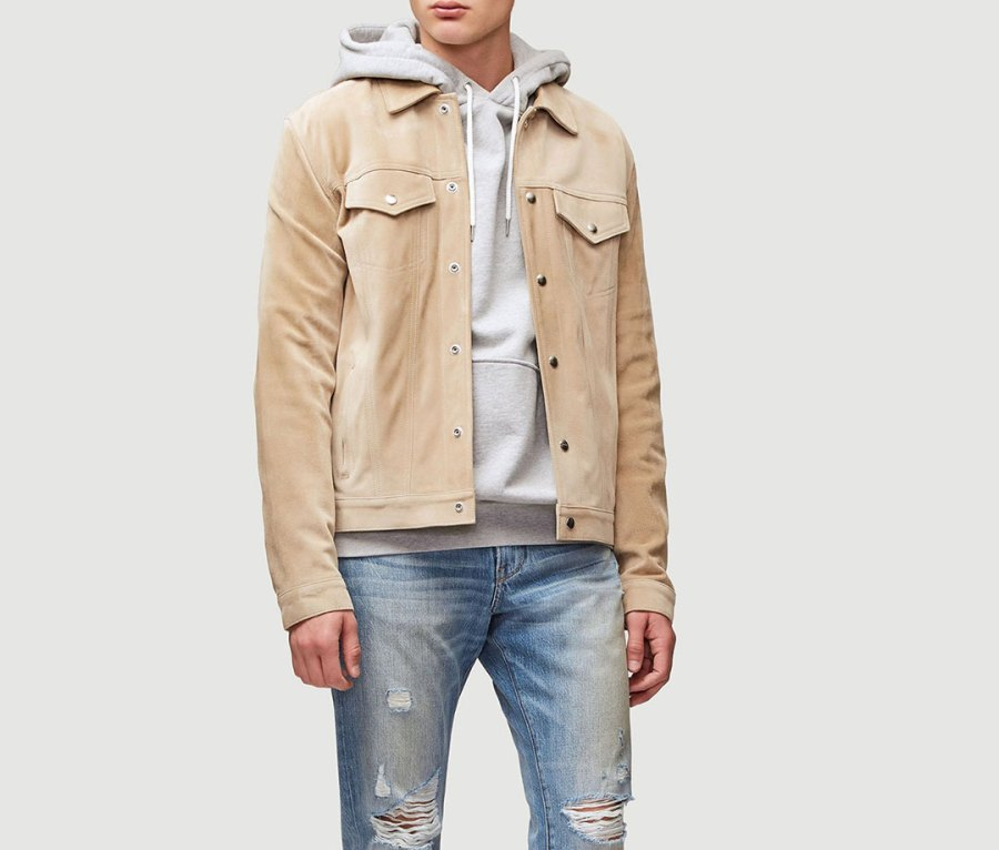 Suede Western Jacket from Frame