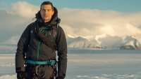 'Running Wild' Star Bear Grylls on Skydiving With Alex Honnold, His Essential Gear, and Exploring the Jungle With Brie Larson