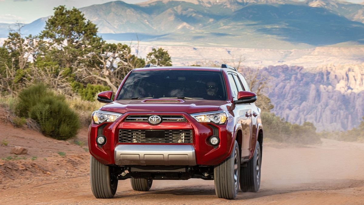 Testing the 2020 Toyota 4Runner and Tacoma TRD Pro in the Wild