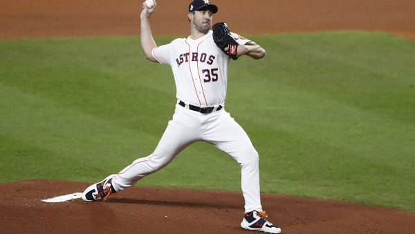 Washington Nationals at Houston Astros, USA - 23 Oct 2019 Houston Astros pitcher Justin Verlander throws against the Washington Nationals in the top of the first inning of their MLB 2019 World Series game two at Minute Maid Park in Houston, Texas, USA, 23 October 2019. The American League Champion Astros face the National League Champion Washington Nationals in a best-of-seven series to determine Major League Baseball's champion. 23 Oct 2019