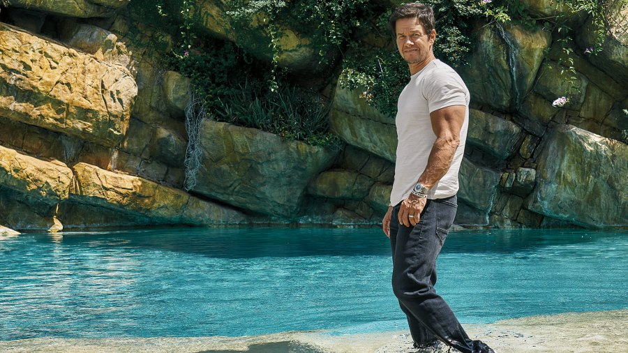 Mark Wahlberg biceps; training; fitness; F45 Training