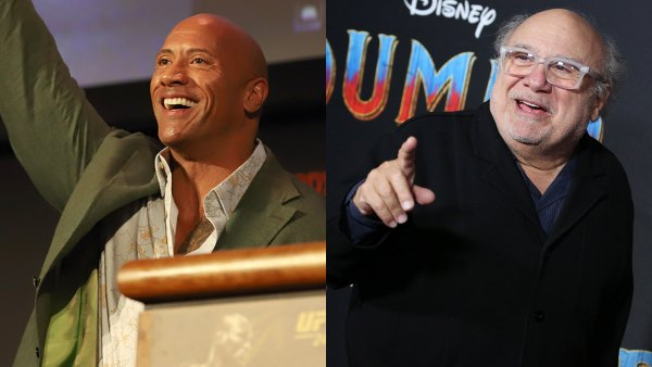 "Dwayne ""The Rock"" Johnson and Danny DeVito crash a wedding; The Rock wedding crash"