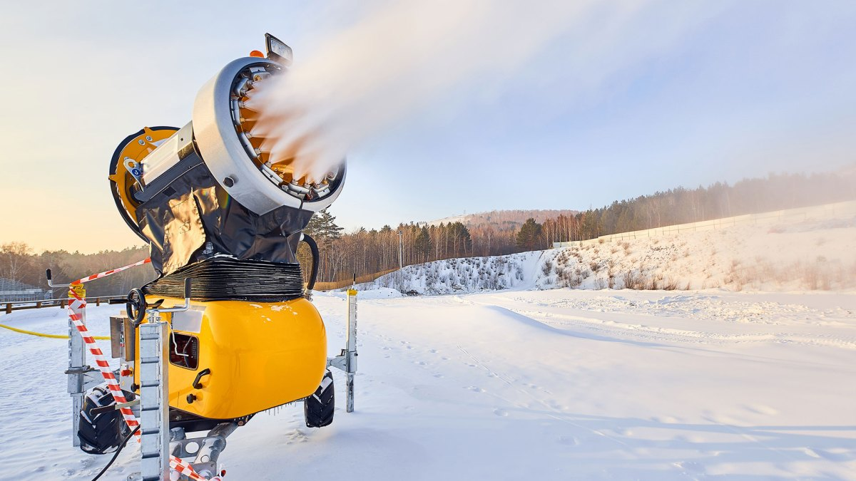 How Ski Resorts Make All That Artificial Snow