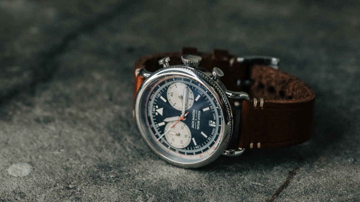 Watch of the Week: Get Cockpit-Inspired Style With the Jack Mason x Taylor Stitch Aviator