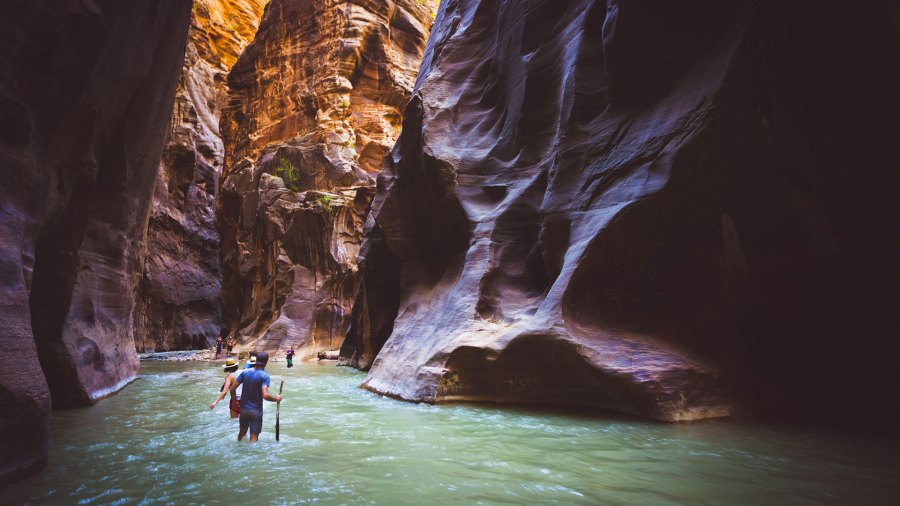 Utah's Zion Narrows Trail