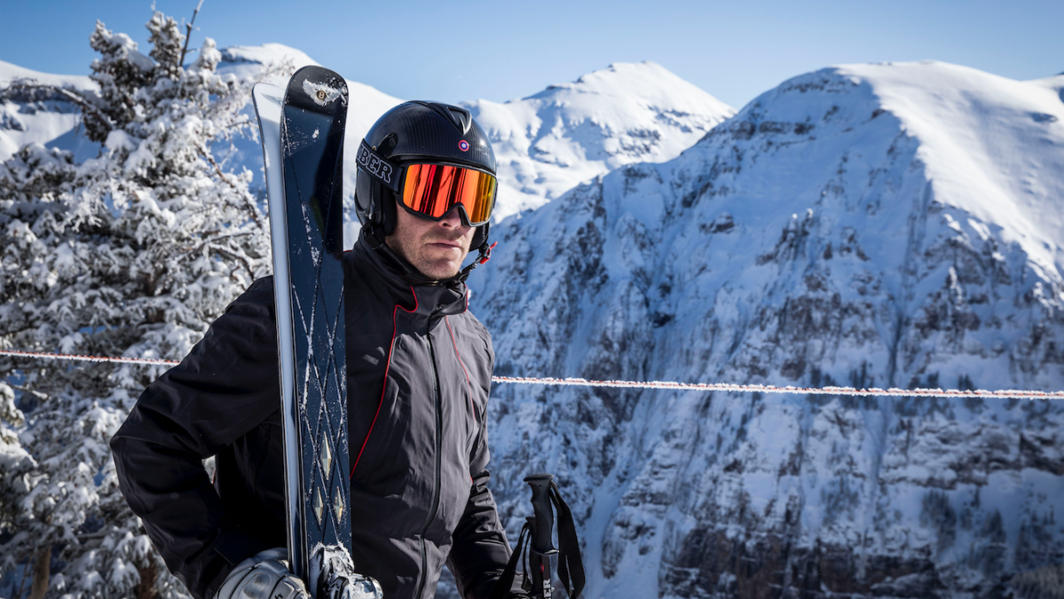 Bentley Motors Debuts Gold-Plated Skis With Bode Miller's Bomber Ski