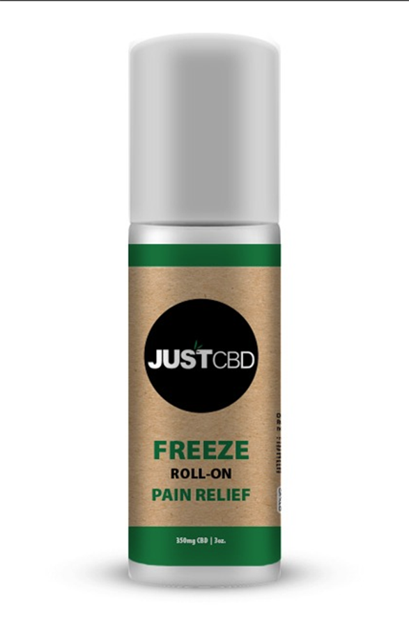 Just CBD Freeze Roll-On Pain Relief