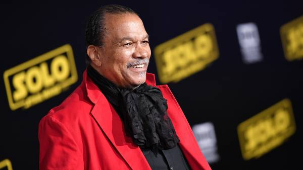 Billy Dee Williams at an event for 'Solo: A Star Wars Story'