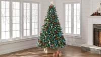 Twinkly 7.5 ft. Pre-Lit LED Swiss Mountain Spruce Christmas Tree