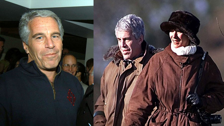 Jeffrey Epstein and Guests on a Pheasant Shoot with Prince Andrew, Sandringham, Norfolk, Britain - 08 Dec 2000 Jeffrey Epstein and Ghislaine Maxwell 8 Dec 2000, Launch of Radar Magazine Held at Hotel QT, New York, America - 18 May 2005 Jeffrey Epstein 18 May 2005