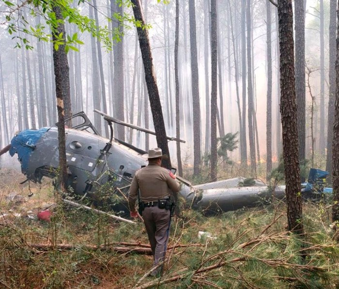 A 2019 helicopter crash in Texas is still under investigation