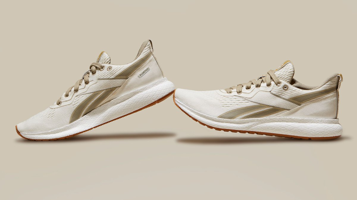 Reebok's New Sustainable Running Shoe Is Almost Entirely Plant-Based