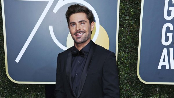 75th Annual Golden Globe Awards, Arrivals, Los Angeles, USA - 07 Jan 2018 Zac Efron 7 Jan 2018