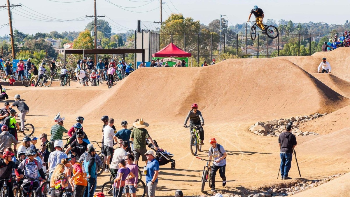 San Diego, CA Officially Opens Its First Bike Park