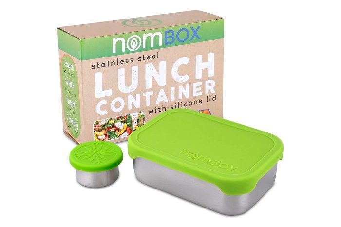 NomBox Leak Proof Stainless Steel Lunch Container