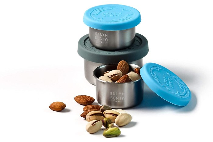 SMALL Condiment Size Leak Proof Stainless Steel Food Container