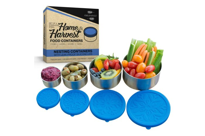 Home & Harvest Stainless Steel Food Storage Containers