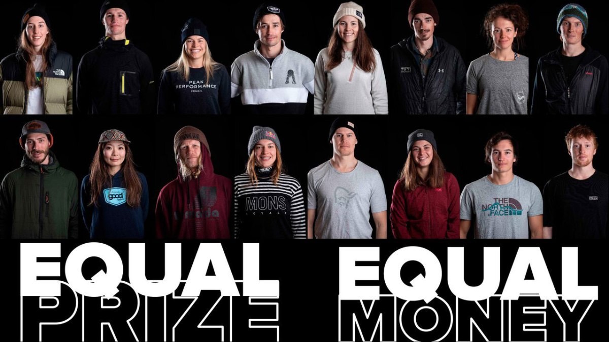 Freeride World Tour Announces Equal Prize Money For Men and Women in 2020