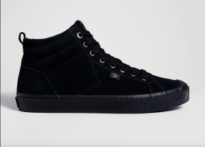 OCA High Triple Black Suede High-Tops
