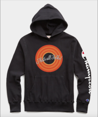 Champion + Looney Tunes That's All Folks Hoodie