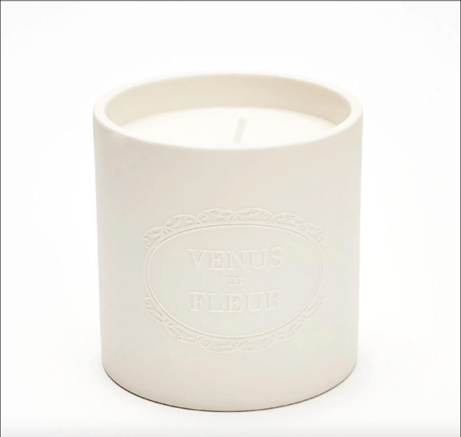 Rose Blanche Candle