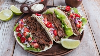 Super Bowl Crock-Pot; Crock-Pot Pot Roast Shredded Beef Tacos