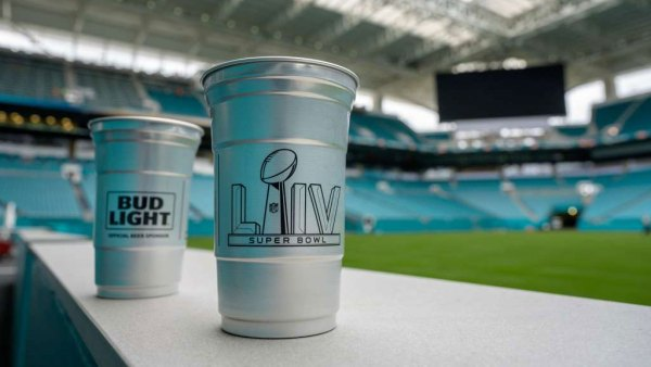 super bowl cups
