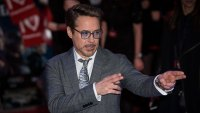 Britain Captain America Civil War Premiere, London, United Kingdom - 26 Apr 2016 Actor Robert Downey Jr. poses for photographers upon arrival at the premiere of the film 'Captain America Civil War' in London 26 Apr 2016