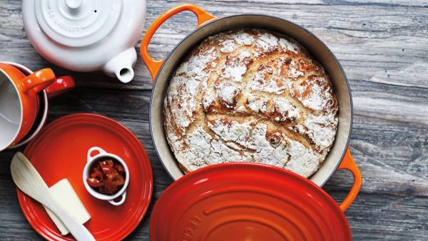 Dutch oven bread; Round Dutch Oven by Le Creuset