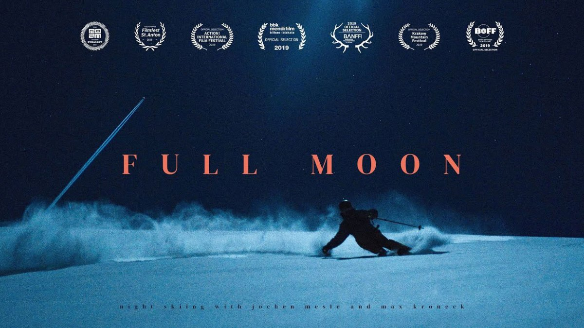 Watch 'Full Moon': Night Skiing the Austrian Alps With No Artificial Light