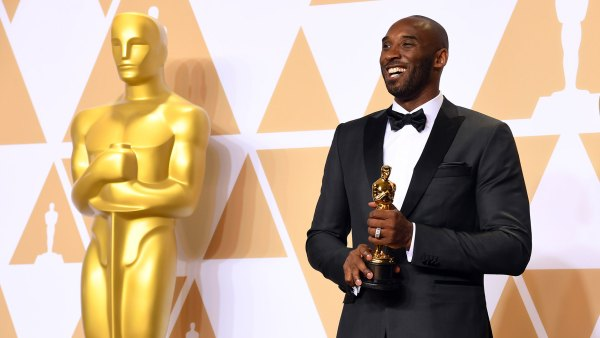 90th Annual Academy Awards, Press Room, Los Angeles, USA - 04 Mar 2018 Kobe Bryant - Best Animated Short Film - 'Dear Basketball 4 Mar 2018