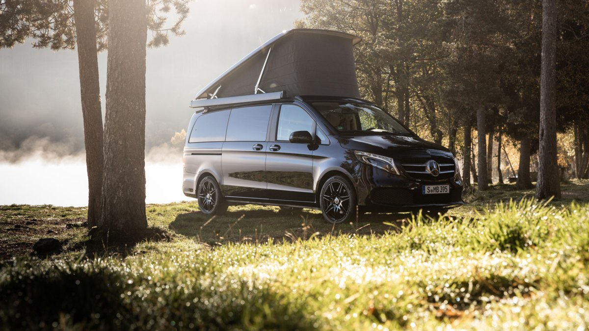 Mercedes-Benz's New 'Smart Home on Wheels' Is the Adventuremobile of Your Dreams
