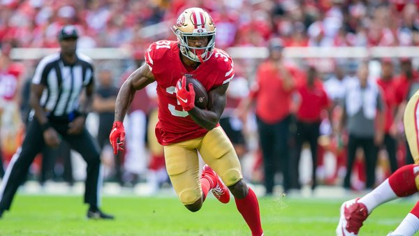 NFL Steelers vs 49ers, Santa Clara, USA - 22 Sep 2019 San Francisco 49ers running back Raheem Mostert (31) in action during the NFL football game between the Pittsburg Steelers and the San Francisco 49ers at Levi's Stadium in Santa Clara, CA. The 49ers defeated the Steelers 24-20 22 Sep 2019