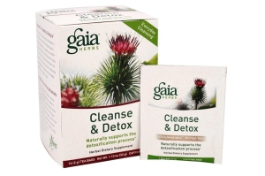 Gaia Herbs Cleanse & Detox Herbal Tea