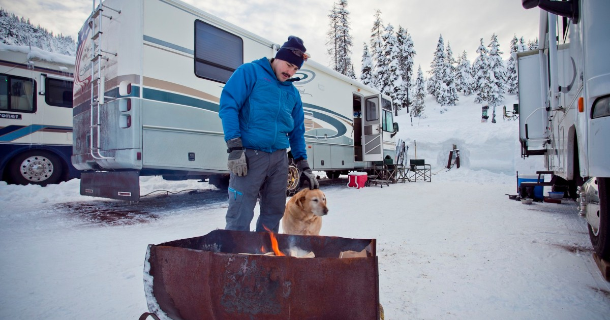 A Guide to Slopeside Ski Resort Winter Camping in Ski Area Parking Lots