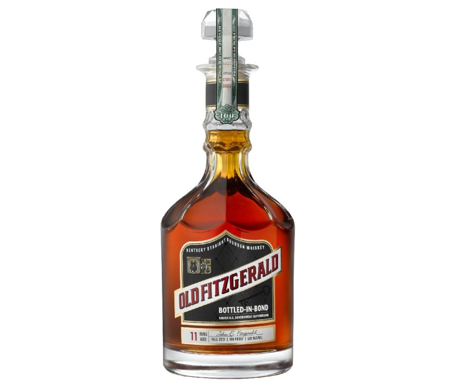 Bottle of Old Fitzgerald 11-Year-Old Bottled-in-Bond (Fall 2021 Edition)
