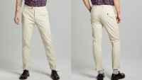 Slim Fit Tab Front Stretch Chino