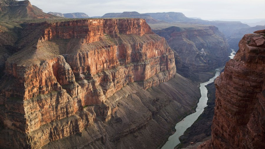 VARIOUS Grand Canyon and Colorado River seen from Toroweap Point, Tuweep Area, North Rim, Arizona, USA 27 Apr 2009