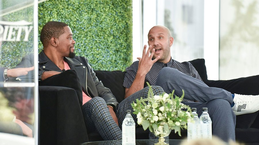 Variety Sports & Entertainment Breakfast, Los Angeles, USA - 19 Jul 2018 Kevin Durant and Rich Kleiman 19 Jul 2018