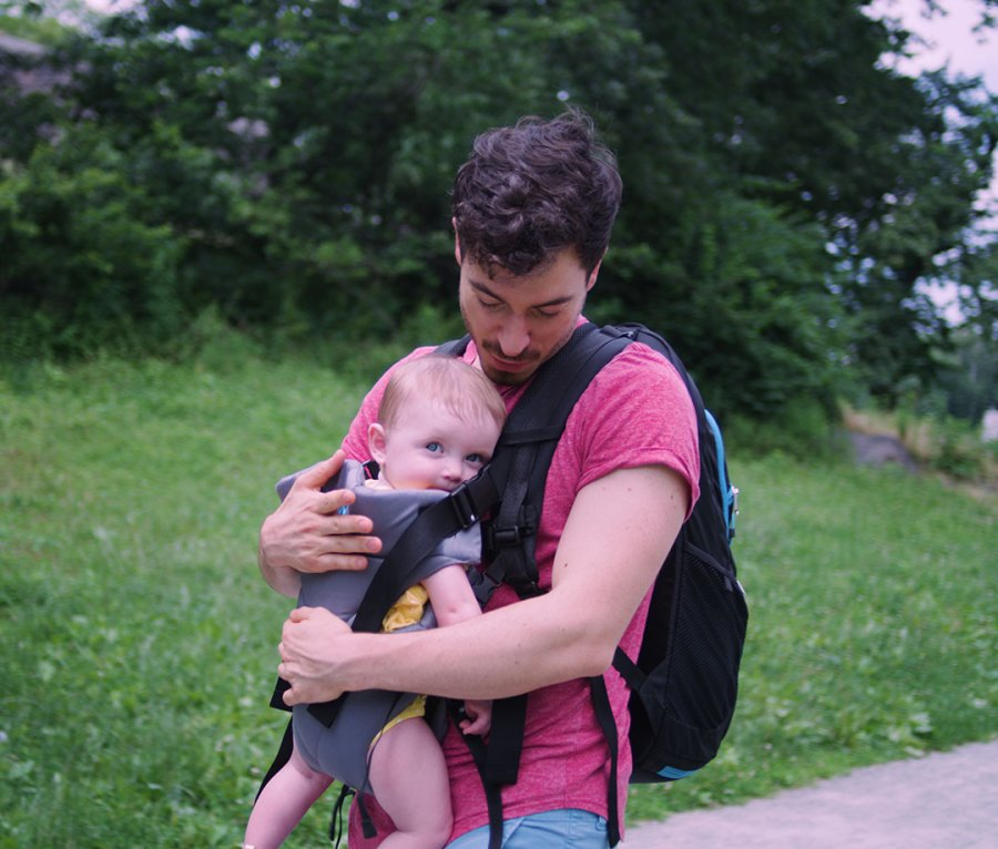 JP Outdoors Co-Pilot Daypack, Baby Carrier and Parenting Bag