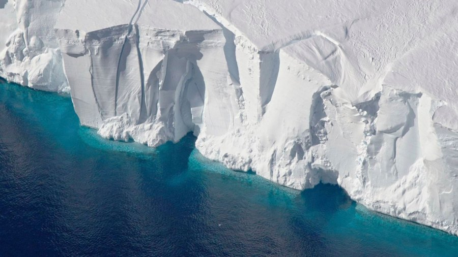 Melting Antarctica - 14 Jan 2019 This 2016 photo provided by NASA shows the Getz Ice Shelf from 2016's Operation Icebridge in Antarctica. According to a new study published, in Proceedings of the National Academy of Sciences, Antarctica is melting more than six times faster than it did in the 1980s 14 Jan 2019
