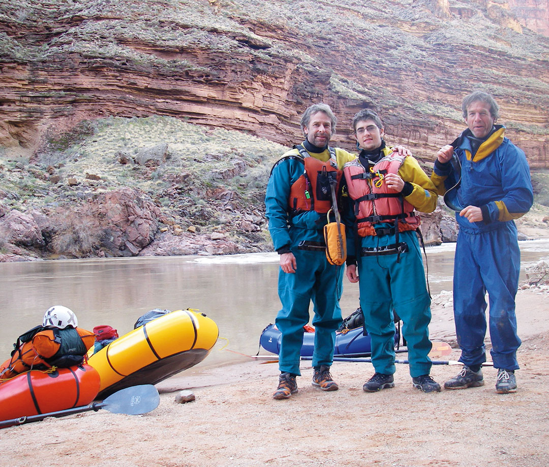 In 2008, Dial and his son floated the Grand Canyon in pack rafts, one of the first teams to do so.