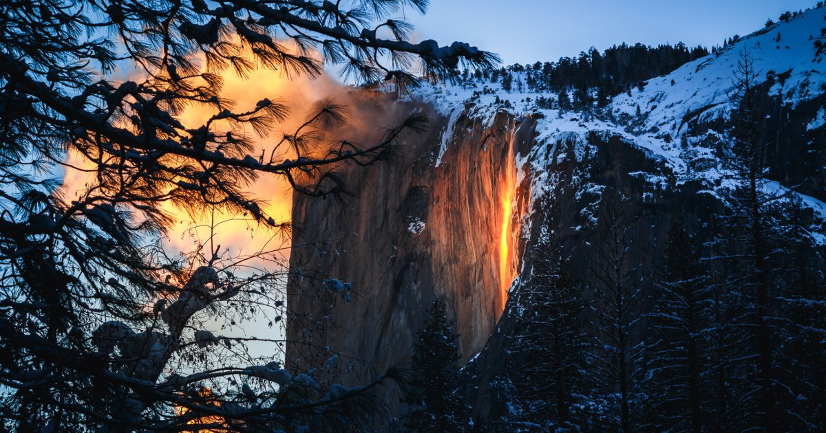 Yosemite's Annual 'Firefall' Window Is Officially Open, But Will It Appear?