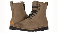 furl-lined work boots